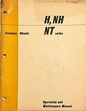 OPERATION AND MAINTENANCE MANUAL CUMMINS DIESEL H, NH, NT SERIES