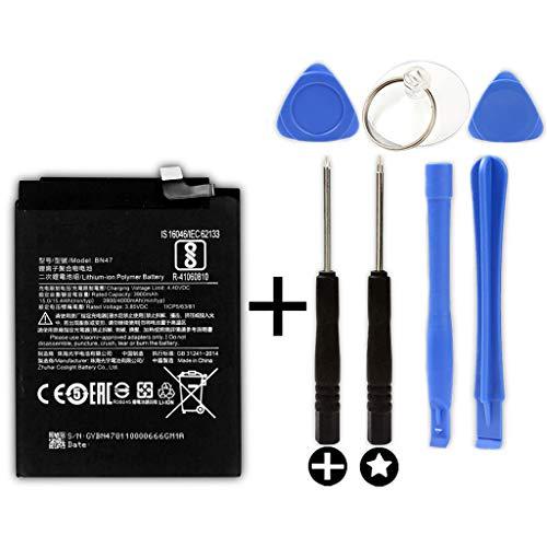 Bateria Compatible con XIAOMI BN47 - XIAOMI MI A2 Lite/MI 6 Pro (4000mAh)