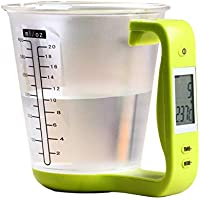 K t Thermo Digital Measuring Cup with LCD Display Built In Thermometer