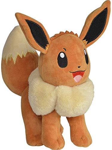 Boti Pokémon Plüschfigur (20cm) Kuscheltier Stofftier (Evoli)