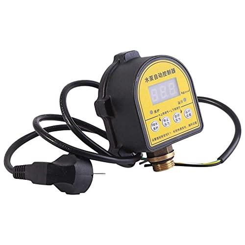 YUQIYU 220V Pantalla LCD digital Pantalla de agua Interruptor de control de presión Controlador de presión electrónica automática Bomba de agua en el interruptor OFF