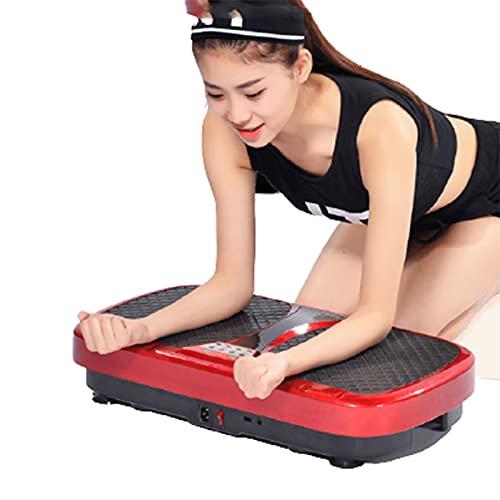 Maquina Plataforma Vibratoria Adelgazante Ejercicio Masaje para Adelgazar Oscilante Sportstech Profesional Pies Fat Burner 200w Body Machine Deportes DoméSticos,Red