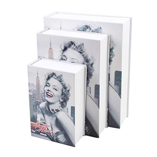 LEV Storage Boxes & Bins - Fake Book Storage Box Mini Safe Box Bank Money Cash Jewellery Hidden Secret Security Book Box Home Decoration Desktop Ornament - by 1 PCs