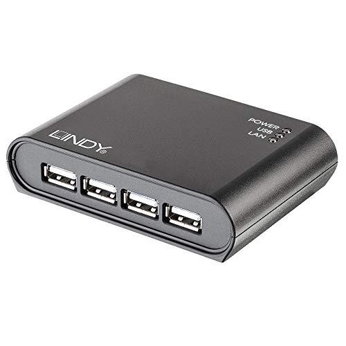 LINDY 4 Port USB 2.0 Gigabit Network Server