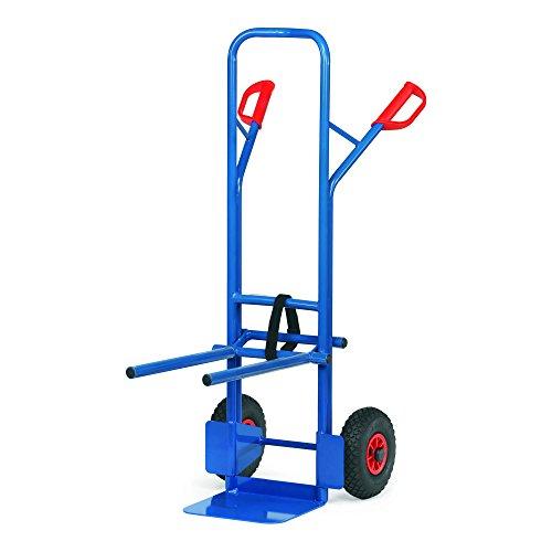 Fetra Transportgeräte mcecrb1Sackkarre für Rollstuhlfahrer mit Kautschuk A1, 580mm Breite x 1300mm Höhe