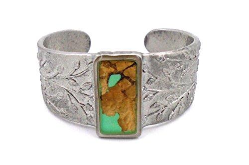 "Real""Bark"" Adjustable Cuff Bracelet by Shari Dixon"