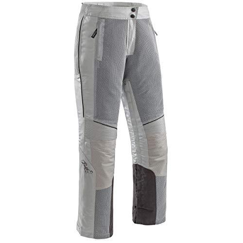 Joe Rocket Cleo Elite Women's Textile Motorcycle Pants (Silver, Medium)