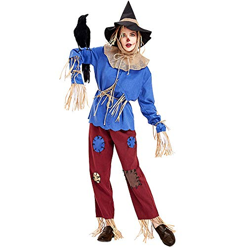 Crystally Adutls Scarecrow Cosplay Disfraz Uniforme Trajes para Halloween, Cosplay Anime, cumpleaos