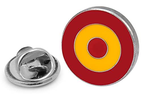 Gemelolandia   Gemelolandia   Pin de Solapa Escarapela Española Modelo 2 - RAF Española   Pines Originales Para Regalar   Para las Camisas, la Ropa o para tu Mochila   Detalles Divertidos