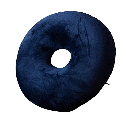 WGE ronde gat stoel kussen Memory Foam Donut meditatie stoel kussen voor aambeien