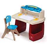 Product Image of the Step2 Deluxe Art Master Kids Desk | Assembles In Min, Multi/None, Model Number:...