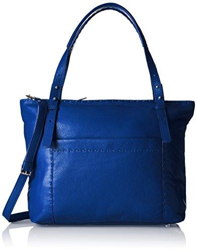 Liebeskind Berlin Damen Newark-HeaSti Schultertasche, electric blue, 13x32x37 cm