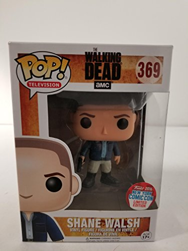 Funko - Figurine The Walking Dead - Season 1 Shane Walsh NYCC 2016 Pop 10cm - 0849803095031