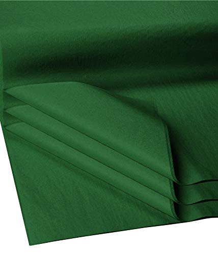 Flexicore Packging® | Gift Wrap Tissue Paper | Size: 15x20 | Acid Free (Emerald Green, 100 Sheets)