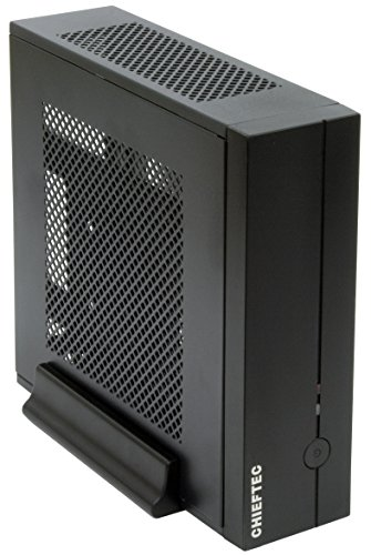 Chieftec IX-01B-OP Compact Serie Mini-Tower PC-behuizing zwart