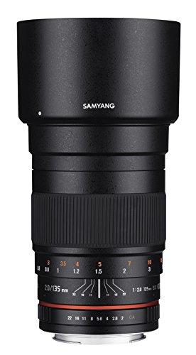 Samyang 135mm f/2.0 ED UMC Telephoto Lens for Nikon Digital SLR Cameras