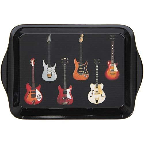The Leonardo Collection Guitars Rock n Roll Music - Bandeja pequeña (21 cm)