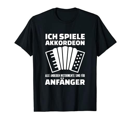 Akkordeon für Profis | Akkordeonist Instrument Akkordeon T-Shirt