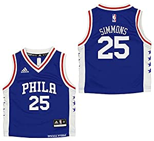 100% Polyester Screen printed graphics Player name and number on back Toddler Sizing Officially licensed NBA product