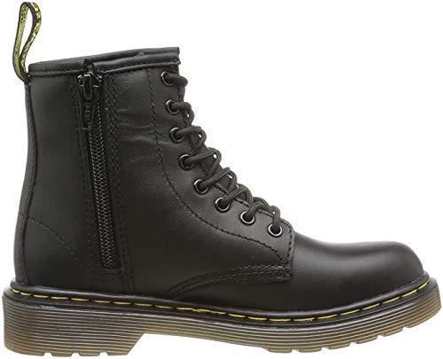 Dr. Martens Unisex-Kinder Delaney Softy T Bootsschuhe, Schwarz (Black), 36 EU