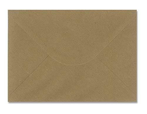 sobres KRAFT boda - varios tamaños - 110gr (22,9x16,2cm C5) 25 und.