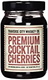 Premium Cocktail Cherries ( 21.2oz / 600 grams) by Traverse City Whiskey Co.