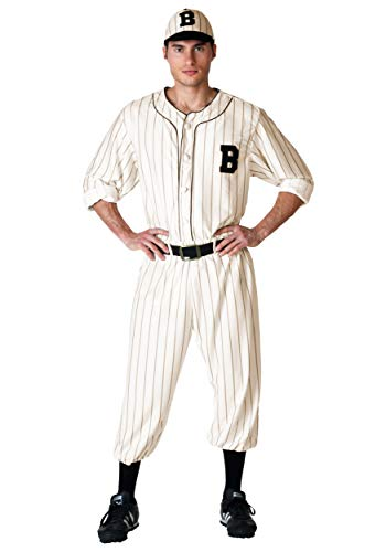 Adult Vintage Baseball Fancy dress costume X-Large