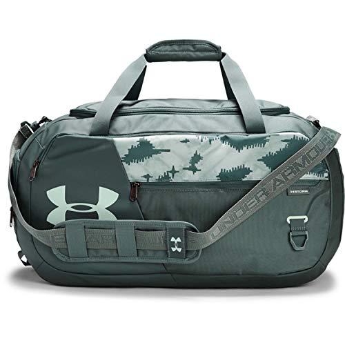 Under Armour Undeniable Duffle 4.0 bolsa de deportes, bolsa de entrenamiento unisex, Azul (Lichen Blue/Seaglass Blue/Seaglass Blue(425)), M
