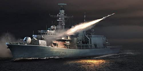 Trumpeter HMS Monmouth F235 Type 23 Frigate (1 350 Scale) by Trumpeter