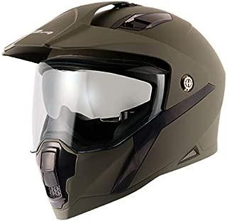 Vega Mount Dull Battle Green Helmet-L