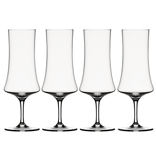 Spiegelau Willsberger Anniversary Stemmed Pilsner Glass, Set of 4
