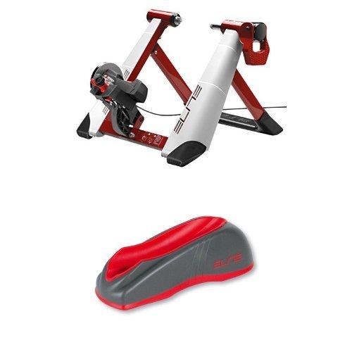 Elite Novo Force - Rodillo de ciclismo con calze rueda delantera de ciclismo