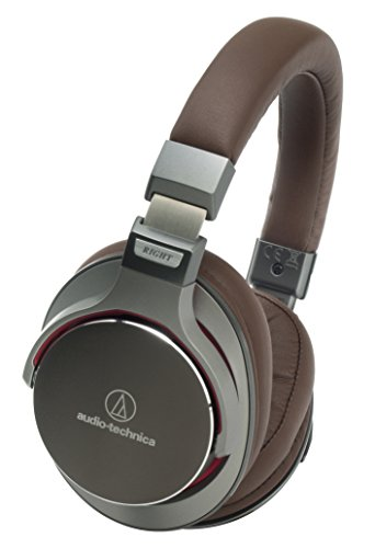 Audio-Technica ATH-MSR7 GM (Gun-Metal Grey) High Resolution Audio Over-Ear Headphone (Japan Import)