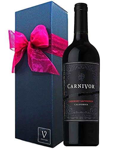 誕生日プレゼント 肉専用黒ワイン Carnivor カーニヴォ <赤ワイン> リボン 化粧箱 ギフト Box