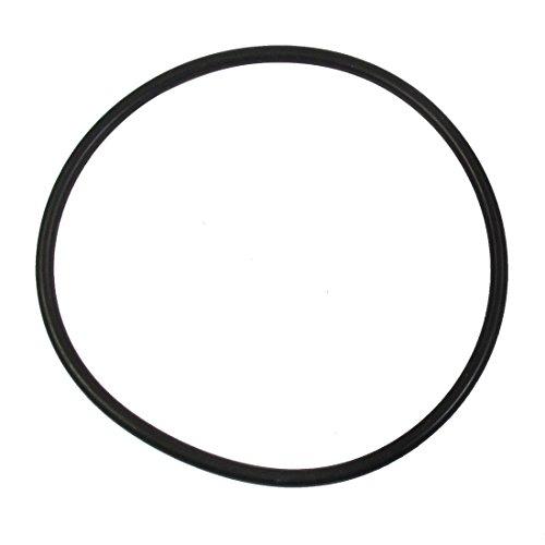 Flyshop Kit de arandelas de goma negra con junta tórica de 18 cm de diámetro exterior 16,3 cm de diámetro interior 0,9 cm de ancho