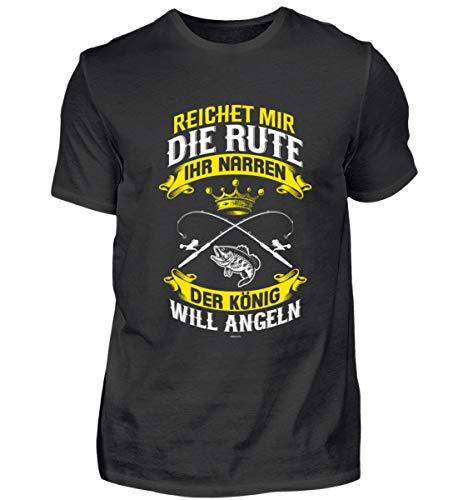 Reichet Mir Die Rute Ihr Narren Angeln - Angeln Angler Geschenk Angelshirt Angelfans - Herren Shirt