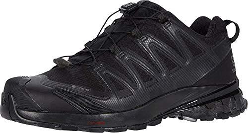 Salomon Herren Trail-Running-Schuhe, XA PRO 3D v8 GTX, Farbe: Schwarz (Black/ Black/Black), Größe: EU 45 1/3