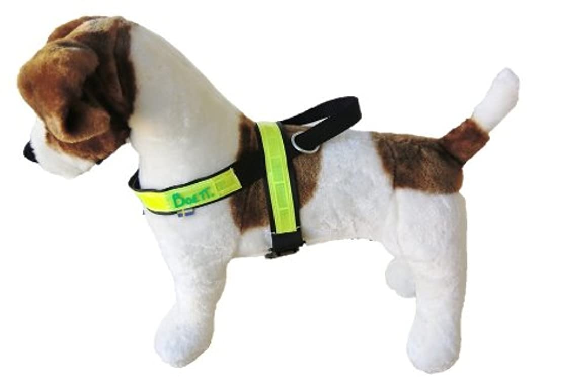 Boett Reflective Track Harness for Dogs, 1-Inch, Size 1, Black n44745655161