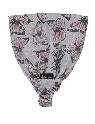 Sterntaler Haarband für Mädchen mit Schmetterling-Motiv, Alter: ab 18-24 Monate, Größe: 51, Silber
