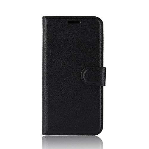 Tasche für Asus ZenFone 3 (5.2zoll) ZE520KL Hülle, Ycloud PU Ledertasche Flip Cover Wallet Hülle Handyhülle mit Stand Function Credit Card Slots Bookstyle Purse Design schwarz