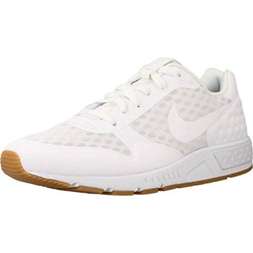 Nike Nightgazer Low Se, Zapatillas para Hombre, Blanco (Weiß Weiß), 40.5 EU