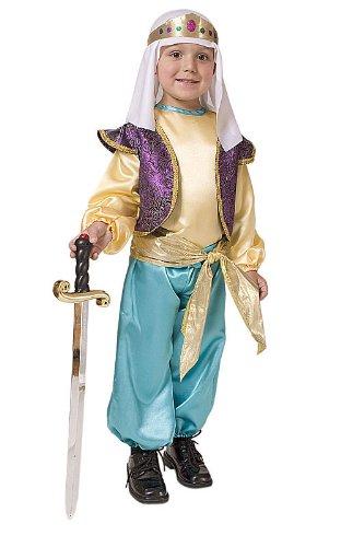 Dress Up America Déguisement de sultan arabe pour garçon