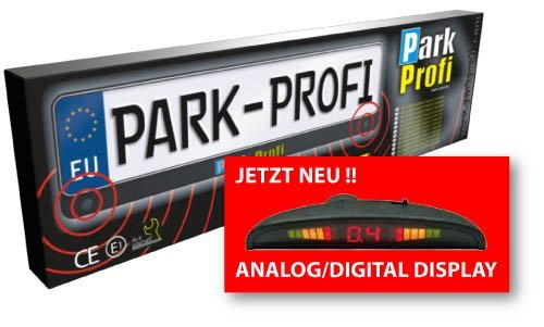 Park Profi Einparkhilfe Nummernschild Rückfahrwarner Kennzeichen Akustisch