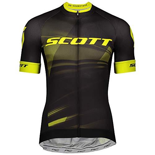 Scott RC Pro Fahrrad Trikot kurz schwarz/gelb 2020: Größe: XL (52/54)