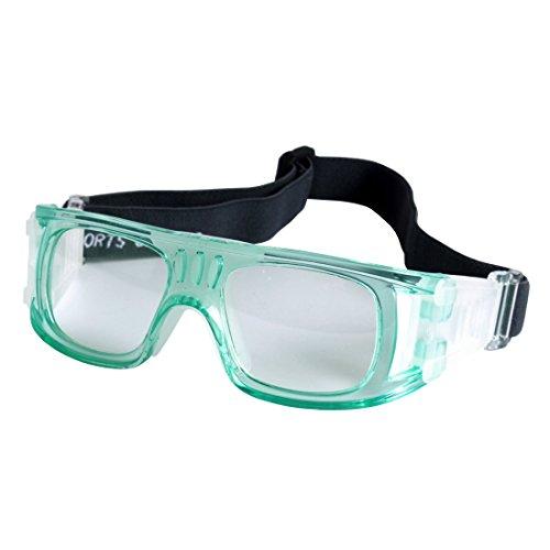 Kelis Baloncesto Fútbol Deportes Gafas de protección Gafas de seguridad para los ojos LQYJ-01 (Verde)