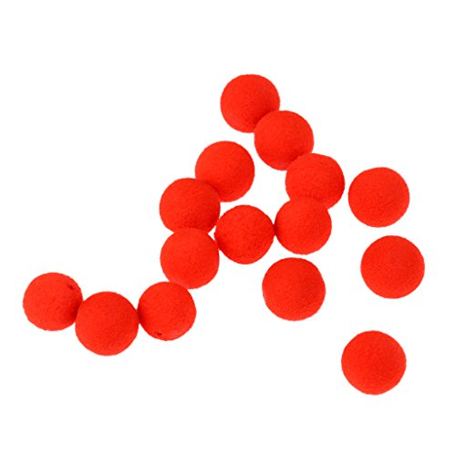 MagiDeal Boilie Box Karpfen Boilie Pop Up 8-14mm Angeln Köder Pellet Mini Mit Geschmack - Rot-Erdbeere, 10mm