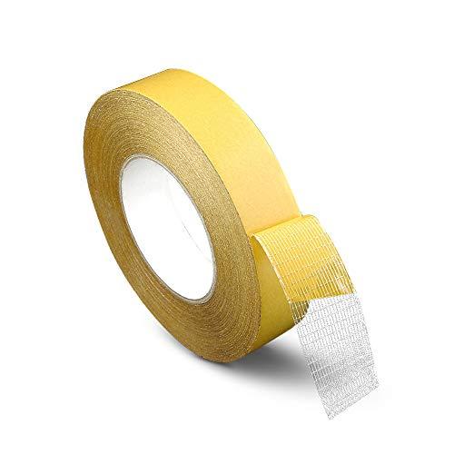 XGzhsa Cinta de doble cara, cinta de fibra autoadhesiva, cinta de fibra...
