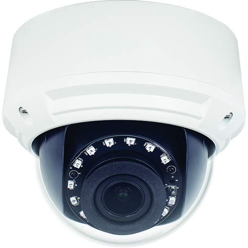 WBox Technologies 0E-HD4MPMODM 4MP IR WDR Outdoor Analog Dome Camera with 2.8mm-12mm, BNC Connection.