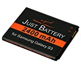 original JuBaTec Akku für Samsung Galaxy S3 GT-i9300 mit 2400 mAh ersetzt EB-L1G6LLU