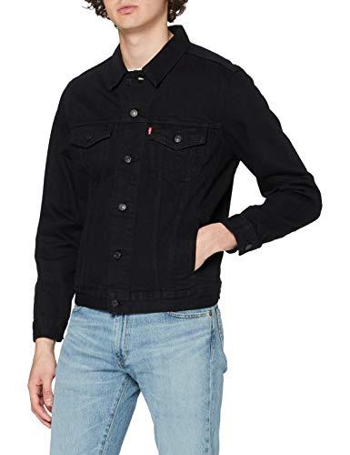 Levis The Trucker Jacket, Giacca in Jeans Uomo, Nero (Berkman 144), X-Large